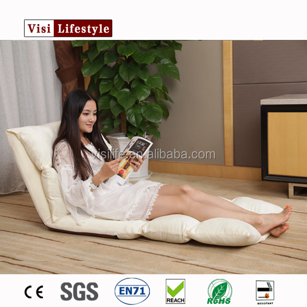 2016 Recliner lazy sofa chair, foldable white sofa beds
