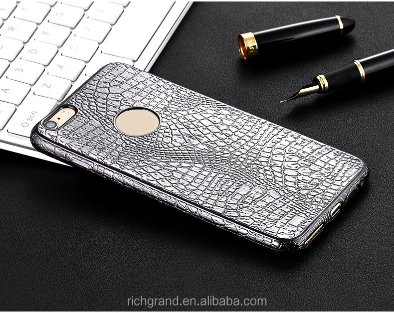Wholesale 3D Crocodile Snake Skin Soft Silicon Mobile Phone Case For iPhone X 8 8 Plus