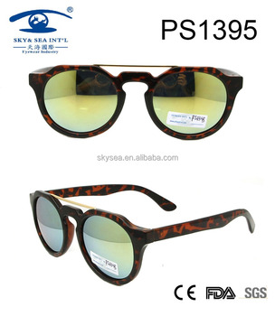 new high plating plastic sunglasses