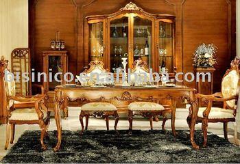 Stile inglese set sala da pranzo di lusso sala da pranzo mobili paese in stile mobili per la - Sala da pranzo in inglese ...