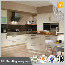 Customized made lacquer kitchen cabinets white metal kitchen cabinets