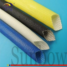 F Class Insulation Oil Resistant Acrylic Resin Coated Sleeving For lighting