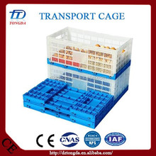 Brand new collapsible soft dog crate with high quality transport roll stacking wire cage