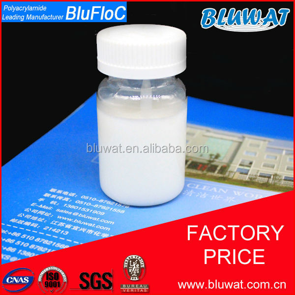 Blufloc Chile High Quality Water Treatment Liquid Cationic Flocculant Manufactured