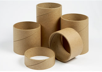 Recycled eco friendly cardboard kraft paper core for toilet paper