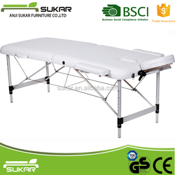 Folding Massage Facial Bed Aluminum Table