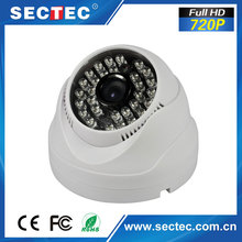 48pcs IR-LED 720p indoor use mini size IP camera shenzhen factory