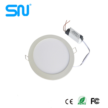 Factory price 3w 4w 6w 9w 12w 24w slim round led ceiling panel light led 18w for India market