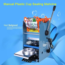 Cup sealing machine bubble Tea cup sealing machine,standard cup dia:65,70,90mm, 400~500cups/h
