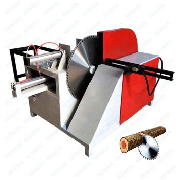 NEWEEK dust removal system wood slasher round log cutting machine for sale