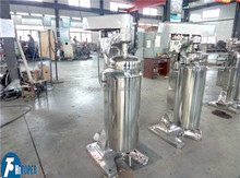 Medicine industry hot sale tubular centrifuge, blood plasma separating centrifuge separator