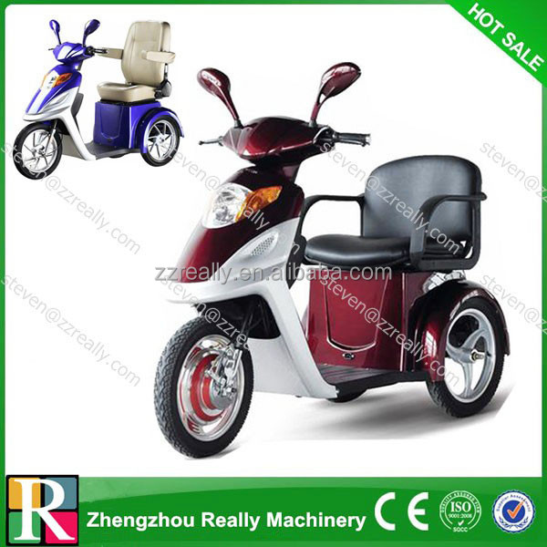 new electric charging tricycle/trike/ 3 wheel scooter/ tricycle scooter motorcycle 3 wheel bicycle