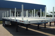 factory price large capacity atv wood transport semi trailer