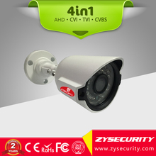 CCTV 4in1 Hybrid security camera,2MP special design Mini bullet camera ,Sony CCD sensor Low Lux 25m IR distance outdoor camera