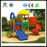 Small Play Area wood and plastic composites playground/ little tikes outdoor playground/ little tikes climber slide QX-11055C