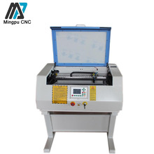 40w Credit Card Making Machine Co2 Glass Tube Mini Laser Cutting Machine