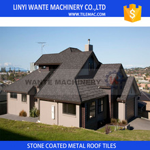Hot selling machine grade High Quality Kerala stone chip coated roof shingles with CE certificate