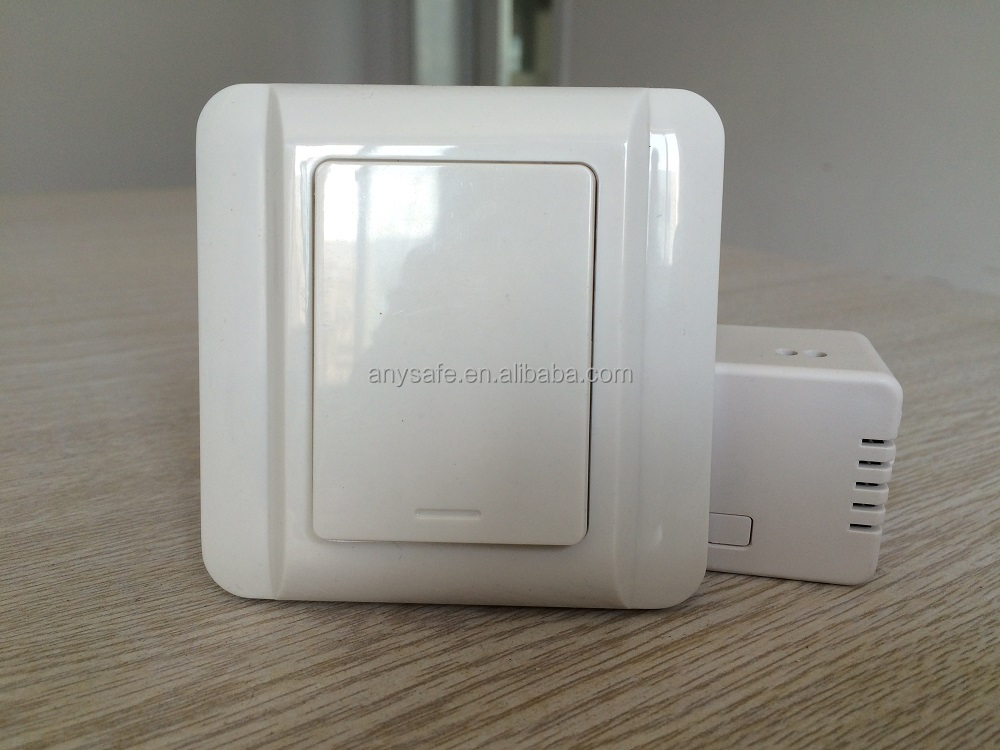 self-powered kinetic wireless wall switch manufacturer supply used to wireless remote control light switch