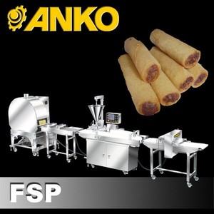Anko Automatic Frozen Mini Open Ends Spring Roll Making Machine