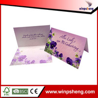 Special Design Handmade Wedding Invitation Card Manufacturer