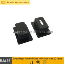 silk printing excellent abrasion resistance silicon rubber conductive keys buttons