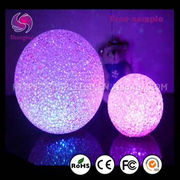 ShengHui 12cm Color Special Design Widely Used LED Moon Light