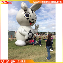 Giant outdoor advertising inflatable Bugs bunny for sale, inflatable animal rabbit replica