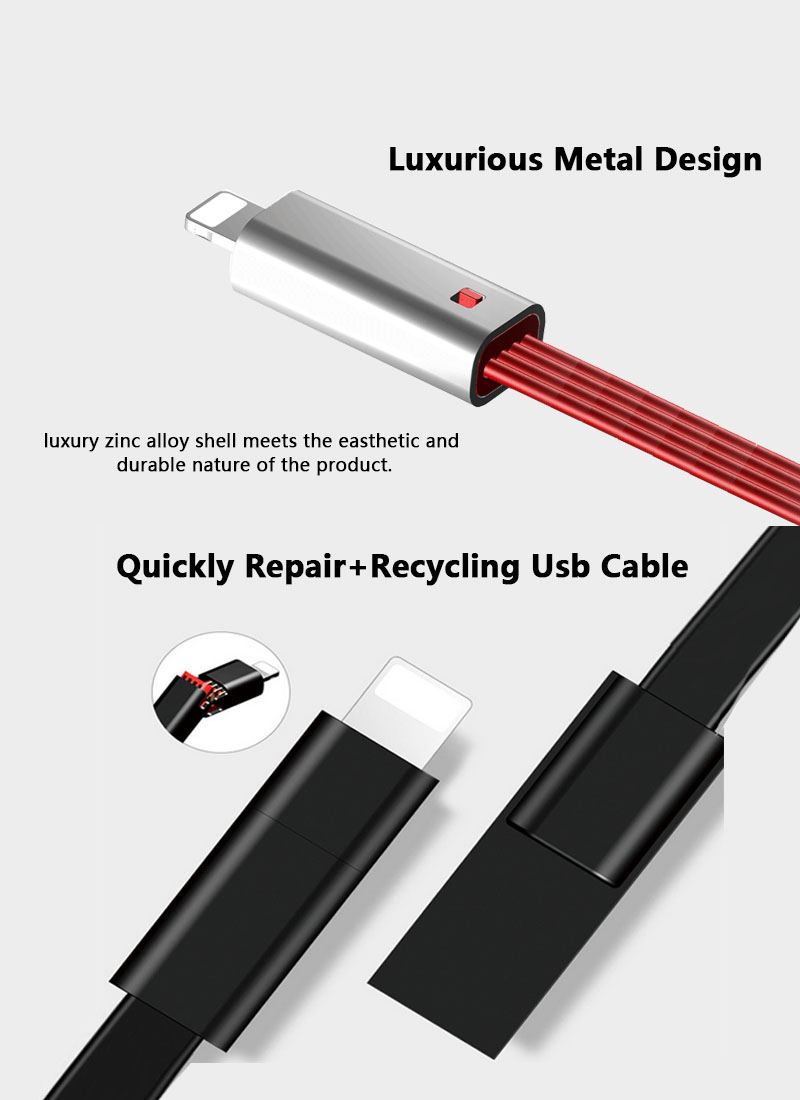 Best Selling Multi-function Micro USB Magnetic Charging Cable Quickly Repair Renewable Usb Data Cable For Mobile Phone