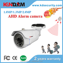 Kendom 2016 Dubai New Outdoor Waterproof Alarm Camera Series 1080p CCTV Camera AHD in security alarm system like warehouse