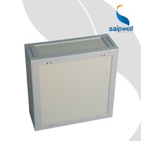 SAIP/SAIPWELL 600*600*300 China Customized New Design Hot Sale OEM/ODM IP66 Battery Case Enclosure