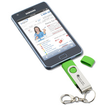 Dual OTG USB Flash Drive For Android Smartphone