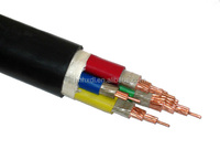 Low Voltage Multicore Copper Conductor PVC Cable NYY