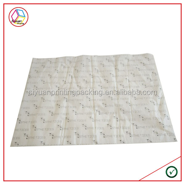 High Quality Customized Logo Wrapping Tissue Paper
