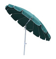 16 ribs Aluminum Pole Material and Outdoor Furniture General Use custom outdoor beach umbrella