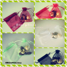 4x6 cm Beautiful Organza Bags Customized Mix Color