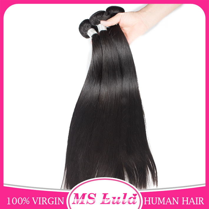Soft and thick wholesale virgin malaysian hair straight 2-3 days to US
