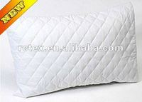 RPC-4 Zipper Quilted Pillow Protector (Coated, Bed Bug, Waterproof, Anti-allergy)