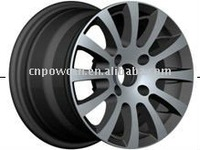 BK160 car rims and tires for a car