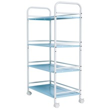 XM_413K 4 Tier factory DIY kitchen furniture wire shelf cart