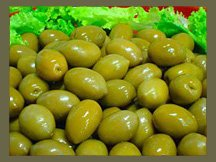 Full favour juicy Green Olives - From Chile