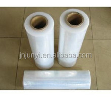 different size lldpe plastic plastic wrapping film roll pallet wrap