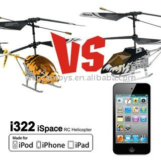 3.5CH RC iSpace combat rc helicopter controlled by iPhone
