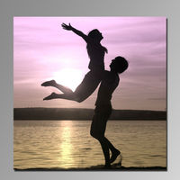 High quality super clear 3D canvas print picture Sexy men and women pictures