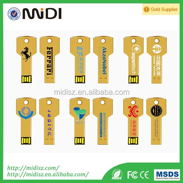 New Arrivals Gift key-operated switch usb flash drive 1GB