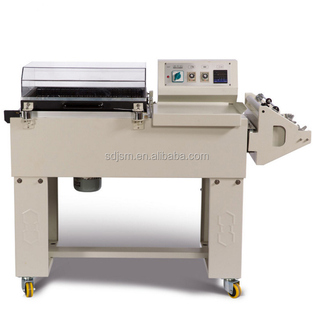 Heat Tunnel Thermal Seal and Cut Film Shrink Packing Machine for books cartons