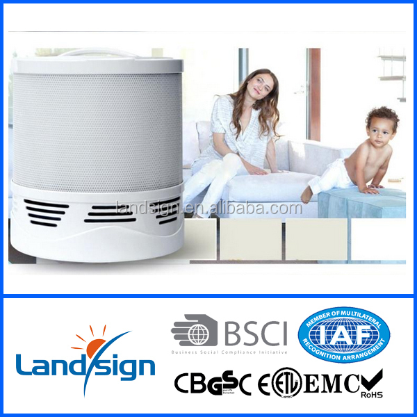RD202 Cixi Landsign ABS hepa air purifier type with 4 filter layer wholesale hepa clean germ fighting air purifier