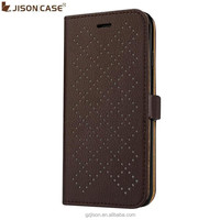 Jisoncase Wallet design folio cases for iPhone 6 fashion come with retail package wholesale fast shipping