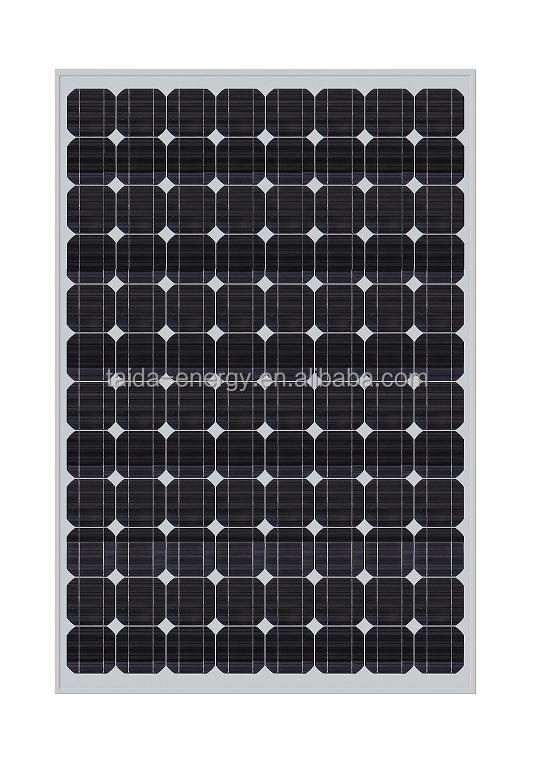 Factory direct sale high quality 250w poly pv solar panel solar module