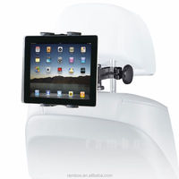 "4.3-11.6"" tablet pc car pillow mount flexible headrest holder for Asus Zenfone 6 for iPad Mini"