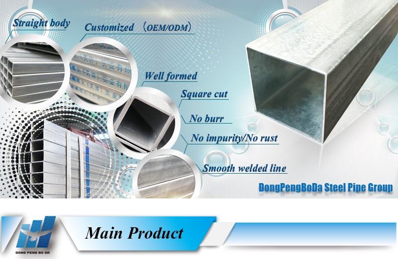 Recubrimiento de zinc 40 120g tubo cuadrado galvanizado - Tubo pvc cuadrado ...
